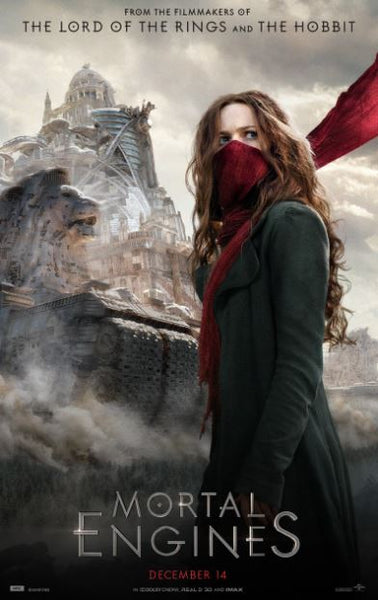 MORTAL ENGINES HD GOOGLE PLAY DIGITAL COPY MOVIE CODE