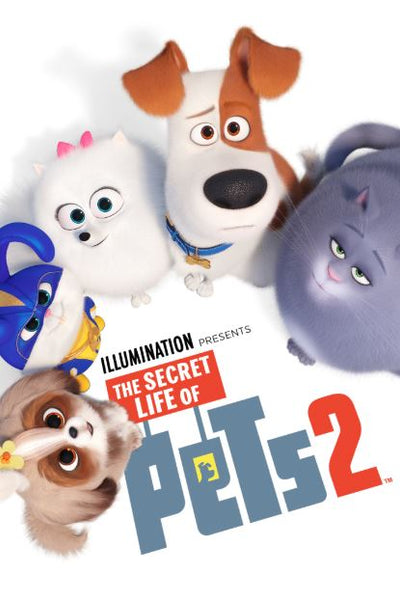 SECRET LIFE OF PETS 2 HD GOOGLE PLAY DIGITAL COPY MOVIE CODE (DIRECT INTO GOOGLE PLAY) CANADA