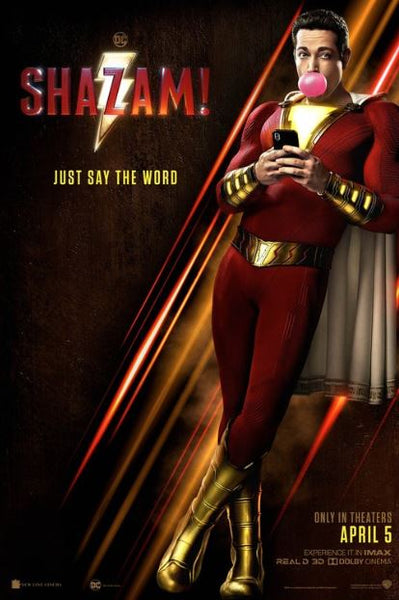 SHAZAM HD GOOGLE PLAY DIGITAL COPY MOVIE CODE