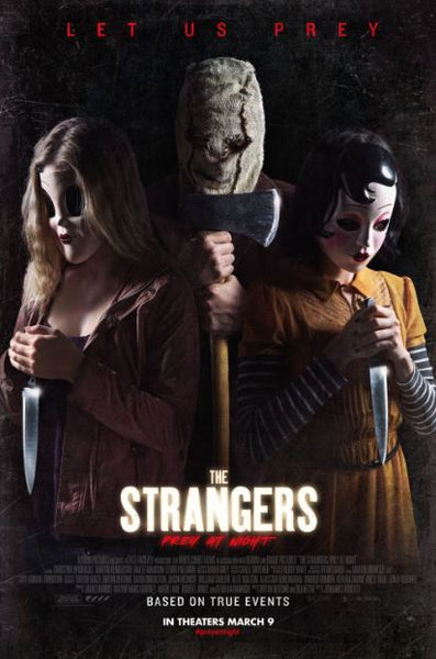 STRANGERS (THE) PREY AT NIGHT HD iTunes DIGITAL COPY MOVIE CODE - MUST HAVE A VALID CANADIAN iTunes ACCOUNT TO REDEEM