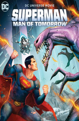 SUPERMAN MAN OF TOMORROW DC UNIVERSE HD MOVIES ANYWHERE (USA) / HD GOOGLE PLAY (CANADA) DIGITAL COPY MOVIE CODE (READ DESCRIPTION FOR REDEMPTION SITE)