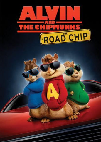 ALVIN AND THE CHIPMUNKS THE ROAD CHIP HDX UV ULTRAVIOLET or iTunes DIGITAL COPY MOVIE CODE