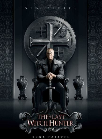 THE LAST WITCH HUNTER HD iTunes DIGITAL COPY MOVIE CODE