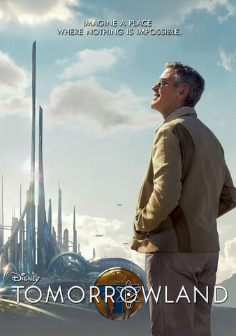 TOMORROWLAND HD DMA DISNEY MOVIES ANYWHERE or HD DC DIGITAL COPY MOVIE CODE