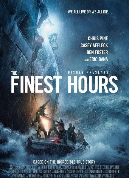 FINEST HOUR (THE) DISNEY HD GOOGLE PLAY CODE w 0 DMR POINTS (DIRECT INTO GOOGLE PLAY) USA CANADA