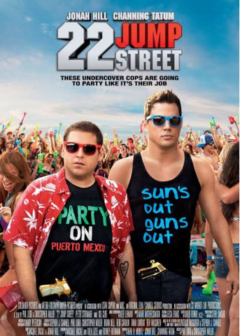 22 JUMP STREET HDX UV ULTRAVIOLET DIGITAL MOVIE CODE