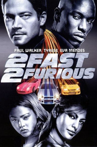 2 FAST 2 FURIOUS HDX UV ULTRAVIOLET DIGITAL MOVIE CODE