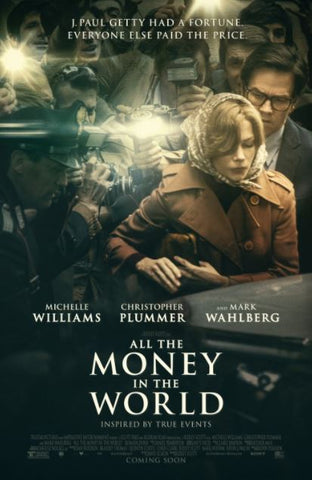 ALL THE MONEY IN THE WORLD HDX UV DIGITAL MOVIE CODE