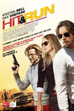 HIT & RUN HD iTunes DIGITAL COPY MOVIE CODE ONLY - USA