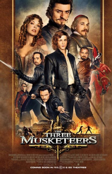 THE THREE MUSKETEERS (2013) SD iTunes DIGITAL COPY MOVIE CODE