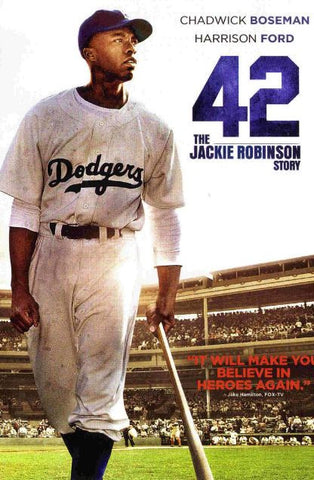42 THE JACKIE ROBINSON STORY HDX UV ULTRAVIOLET DIGITAL MOVIE CODE