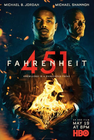 FAHRENHEIT 451 HBO HD GOOGLE PLAY DIGITAL COPY MOVIE CODE