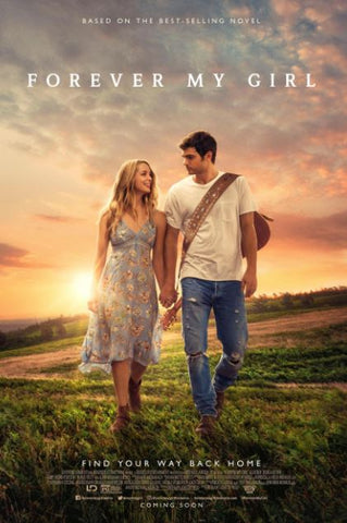 FOREVER MY GIRL HD iTunes DIGITAL COPY MOVIE CODE