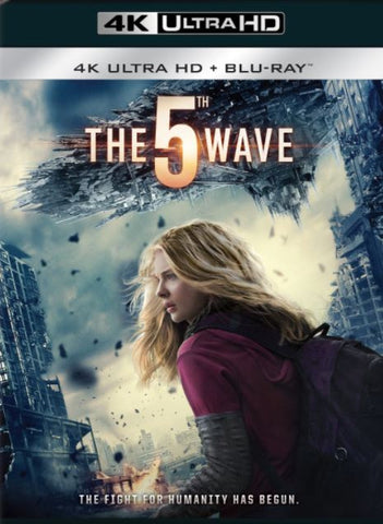 THE 5TH WAVE UHD 4K UV ULTRAVIOLET DIGITAL MOVIE CODE