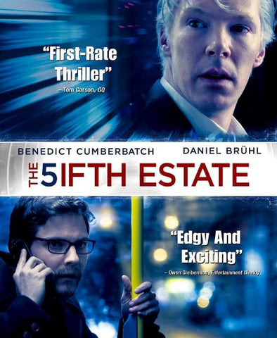 5IFTH ESTATE (THE) HDX VUDU or iTunes DIGITAL COPY MOVIE CODE
