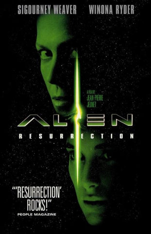 ALIEN RESURRECTION HD iTunes DIGITAL COPY MOVIE CODE