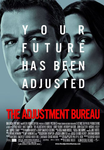 THE ADJUSTMENT BUREAU HD iTunes DIGITAL COPY MOVIE CODE