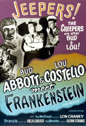 ABBOTT AND COSTELLO MEET FRANKENSTEIN HD iTunes DIGITAL COPY MOVIE CODE