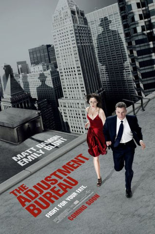 THE ADJUSTMENT BUREAU HDX UV ULTRAVIOLET DIGITAL MOVIE CODE