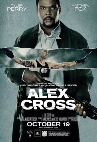 ALEX CROSS HD iTunes DIGITAL COPY MOVIE CODE ONLY - USA