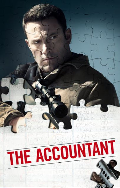 THE ACCOUNTANT HDX UV ULTRAVIOLET DIGITAL MOVIE CODE