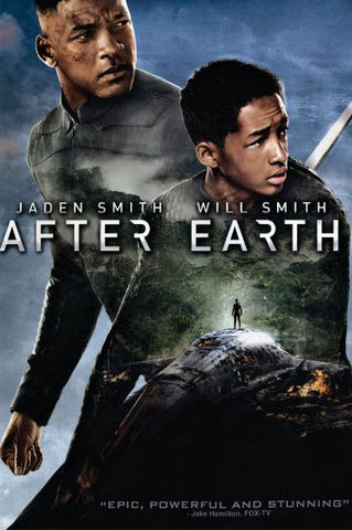 AFTER EARTH HDX UV ULTRAVIOLET DIGITAL MOVIE CODE