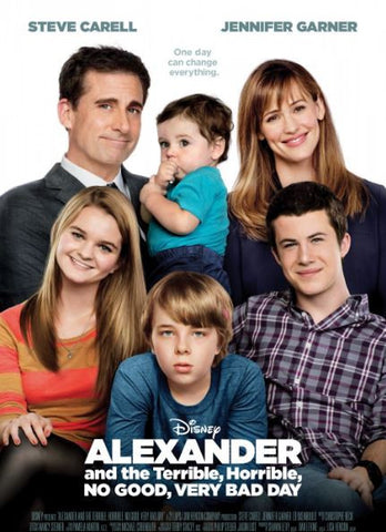 ALEXANDER AND THE TERRIBLE HORRIBLE NO GOOD VERY BAD DAY HD DMA DISNEY MOVIES ANYWHERE OR HD DC DIGITAL COPY MOVIE CODE