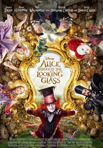 DISNEY ALICE THROUGH THE LOOKING GLASS HD DC DIGITAL COPY MOVIE CODE