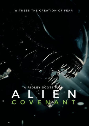 ALIEN COVENANT HD iTunes DIGITAL COPY MOVIE CODE