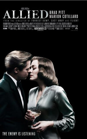 ALLIED HD iTunes DIGITAL COPY MOVIE CODE