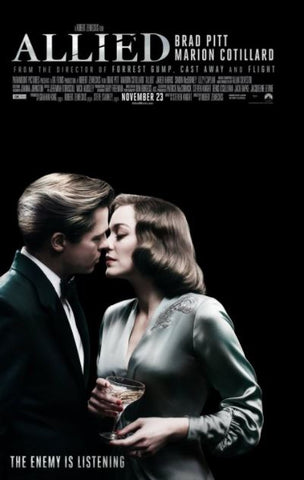 ALLIED HD iTunes DIGITAL COPY MOVIE CODE ONLY - USA