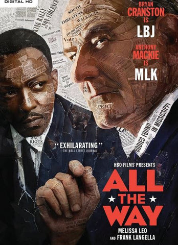 HBO's ALL THE WAY HD iTunes DIGITAL COPY MOVIE CODE