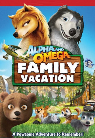 ALPHA AND OMEGA FAMILY VACATION SD UV ULTRAVIOLET DIGITAL MOVIE CODE