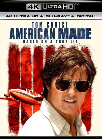 AMERICAN MADE UHD 4K UV ULTRAVIOLET DIGITAL MOVIE CODE