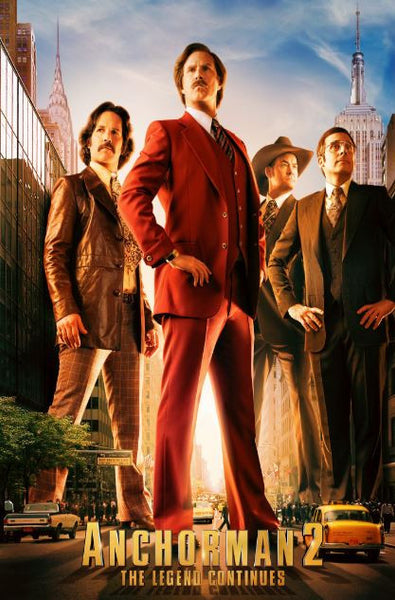 ANCHORMAN 2 THE LEGEND CONTINUES HD iTunes DIGITAL COPY MOVIE CODE