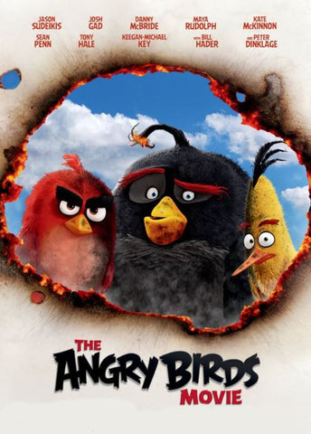 ANGRY BIRDS 1 MOVIE HD GOOGLE PLAY DIGITAL COPY MOVIE CODE (DIRECT INTO GOOGLE PLAY) CANADA