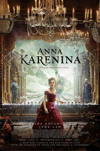 ANNA KARENINA HDX UV ULTRAVIOLET DIGITAL MOVIE CODE ONLY (READ DESCRIPTION FOR REDEMPTION INFO) USA