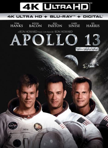 APOLLO 13 UHD 4K UV ULTRAVIOLET DIGITAL MOVIE CODE