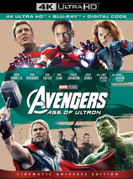 AVENGERS 2 AGE OF ULTRON MARVEL DISNEY 4K UHD MA or HD DC DIGITAL COPY MOVIE CODE