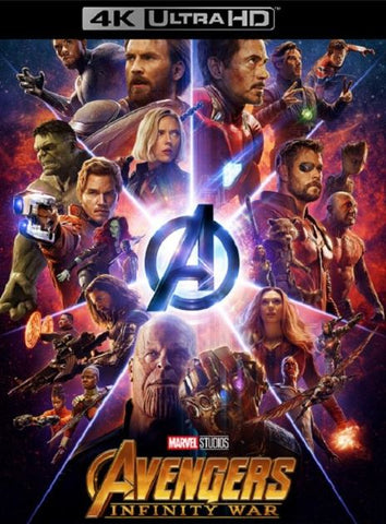AVENGERS INFINITY WAR UHD 4K DMA DISNEY DIGITAL MOVIE CODE