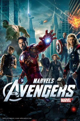 DISNEY MARVEL'S THE AVENGERS HD DIGITAL COPY MOVIE CODE