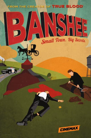 BANSHEE HBO SEASON 1 HD GOOGLE PLAY DIGITAL COPY MOVIE CODE