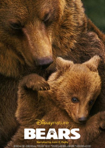 BEARS DISNEY NATURE HD DMA DISNEY MOVIES ANYWHERE or HD DC DIGITAL COPY MOVIE CODE