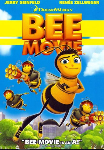 BEE MOVIE HDX UV ULTRAVIOLET DIGITAL COPY MOVIE CODE