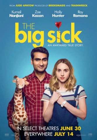 THE BIG SICK HD iTunes DIGITAL COPY MOVIE CODE