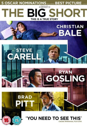 THE BIG SHORT HD iTunes DIGITAL COPY