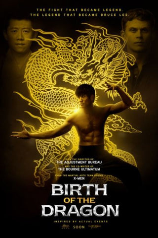 BIRTH OF THE DRAGON HD iTunes DIGITAL COPY MOVIE CODE ONLY - USA CANADA