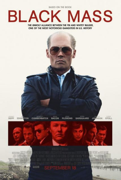 BLACK MASS HDX UV ULTRAVIOLET DIGITAL MOVIE CODE