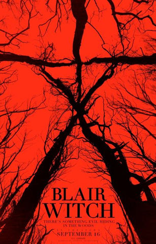 BLAIR WITCH HD iTunes DIGITAL COPY MOVIE CODE