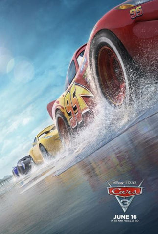 CARS 3 HD DC DISNEY DIGITAL MOVIE CODE